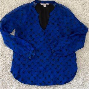 Diane Von  Furstenberg size 4 blouse